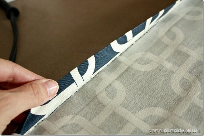 Curtains Ideas curtain grommets diy : DIY Lined Grommet Top Curtain Panels - That's What {Che} Said...
