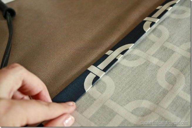 Grommet Top Curtain Panels half inch hem again