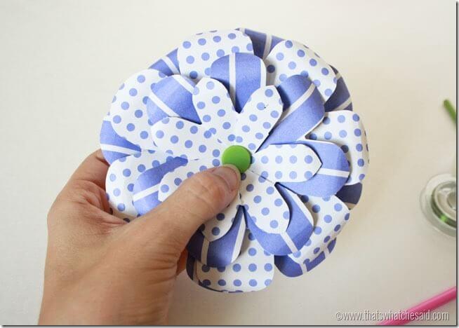 Simple Paper Flowers 11