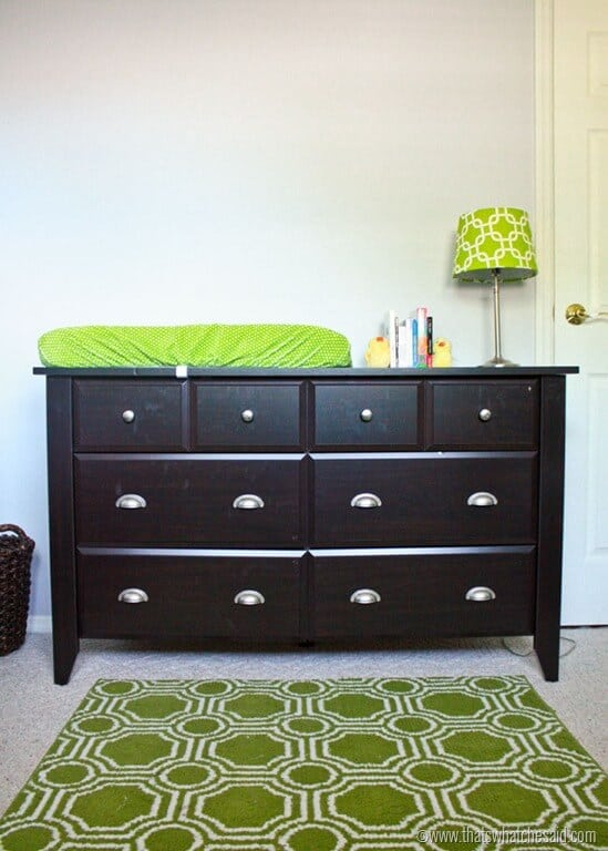 Dresser To Changing Table Sauder Furniture That S What Said