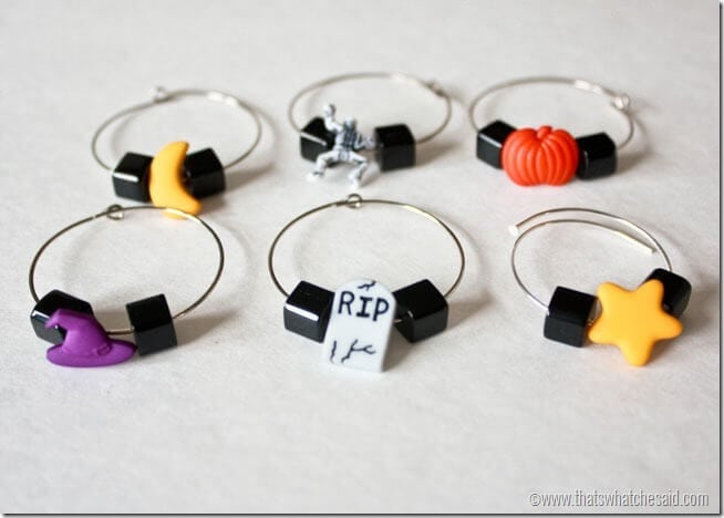 Customizable DIY Wine Charms at thatswhatchesaid.com