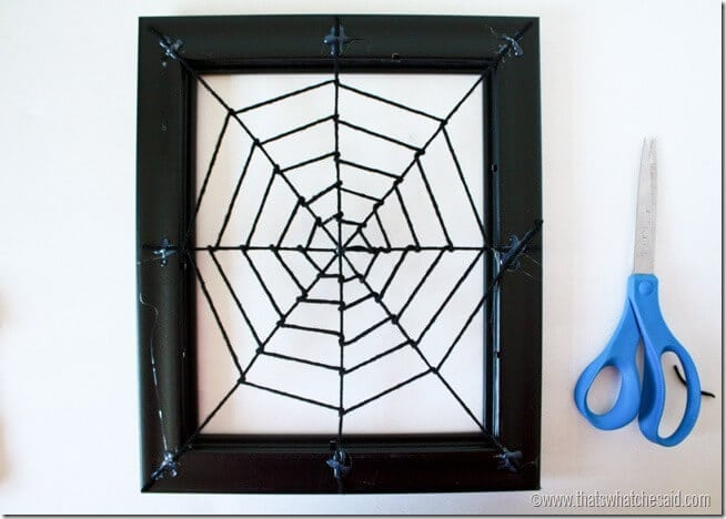 Spiderweb Wreath 3