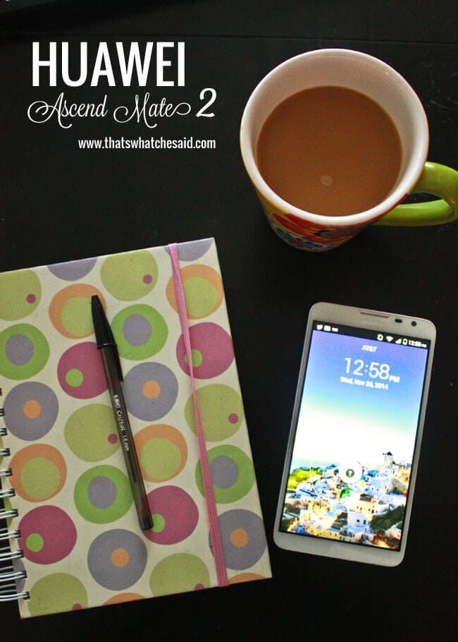 Ascend Mate 2 at thatswhatchesaid com