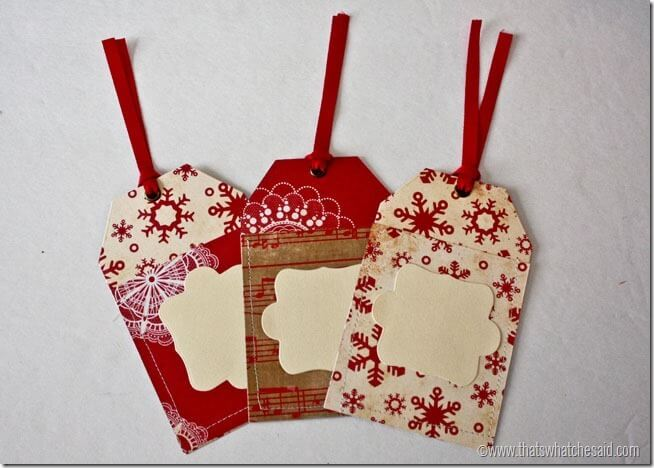 Gift Tag Gift Card Holders 15