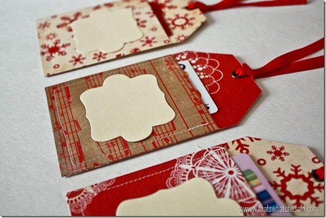 Gift Tag Gift Card Holders 18