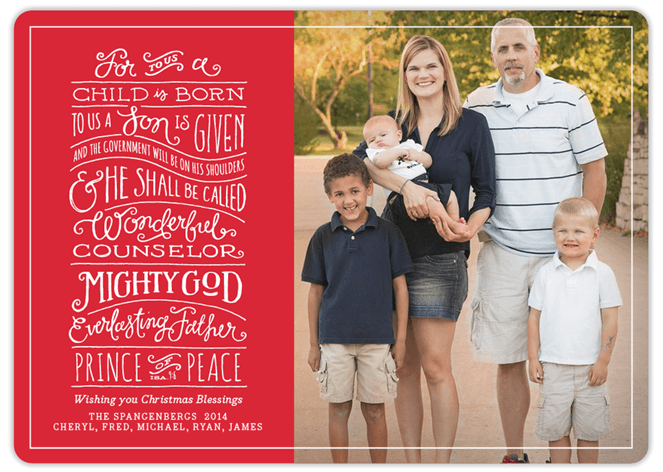 Minted Holiday Card 7