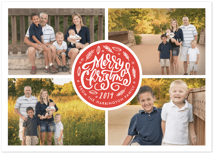 Minted Holiday Card 9