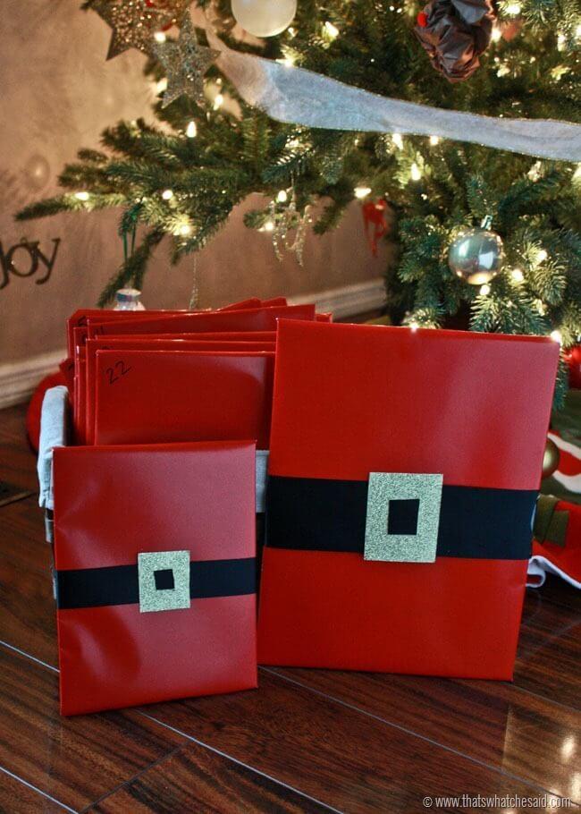Santa Gift Wrap 1