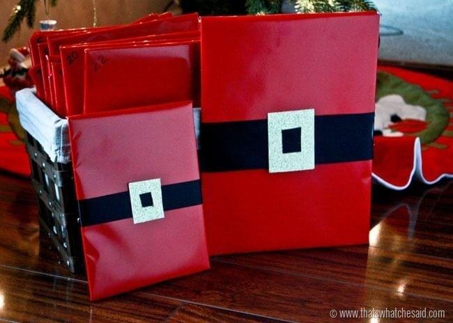 Santa Gift Wrap 3