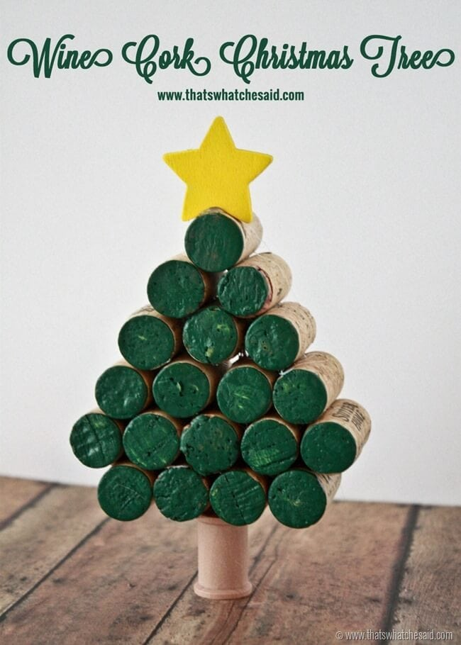 Wine Cork Ideas at thatswhatchesaid.com