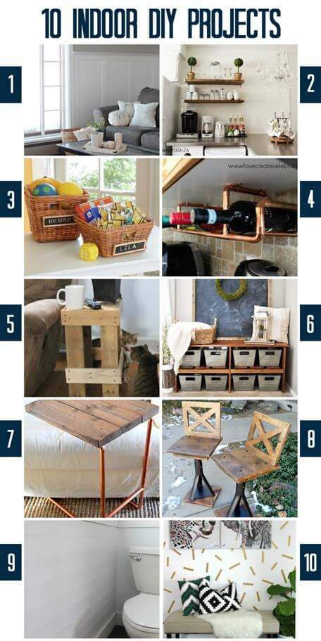 Indoor DIY Projects at thatswhatchesaid.net