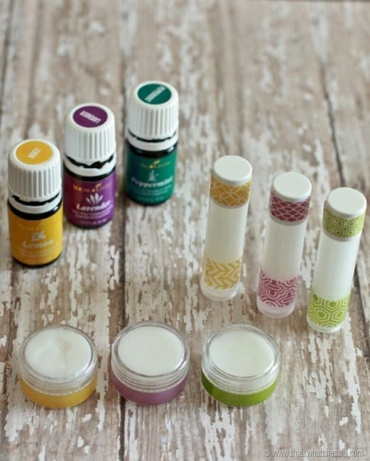 Homemade All Natural Lip Balm Recipe