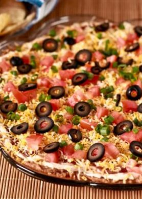 Easiest Mexican Layer Dip Recipe
