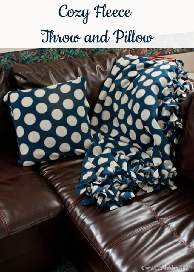 Cozy Fleece Blanket 1