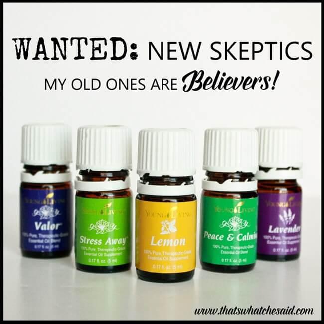 skeptics on essential oils