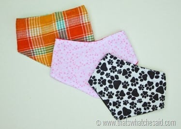 Bandana Drool Bib Tutorial Pattern