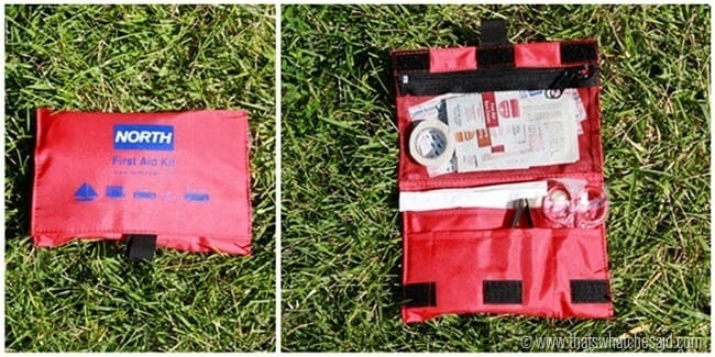 First Aid Kit in Car Survival Kit