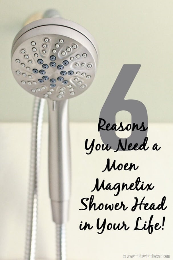 6 Reasons for a Handheld Shower Head | Moen Magnetix - That\'s What ...