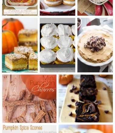 17 Pumpkin Recipes at thatswhatchesaid.com