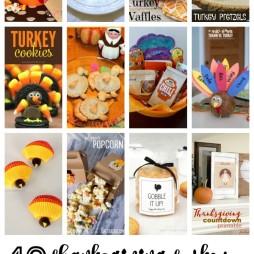 Turkey Crafts & Recipes | Monday Funday Link Party