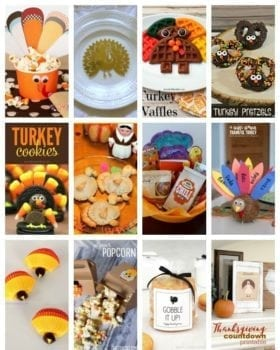 Turkey Crafts & Recipes at www.thatswhatchesaid.com