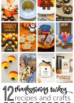 Turkey Crafts & Recipes | Monday Funday Link Party
