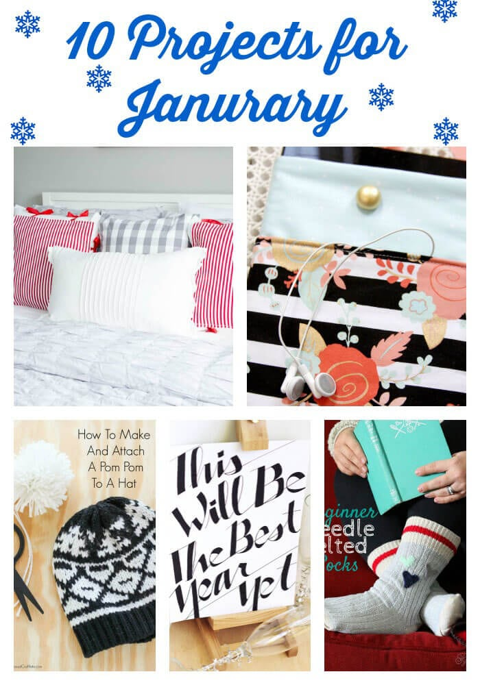 10 Projects for January at thatswhatchesaid.com