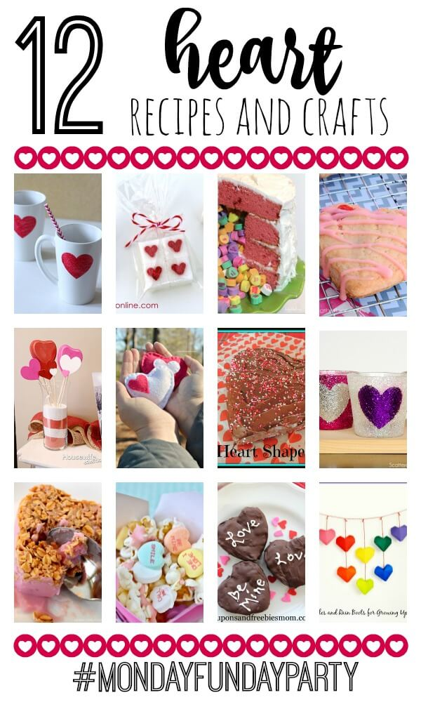 12 Heart Crafts and Recipes at www.thatswhatchesaid.com