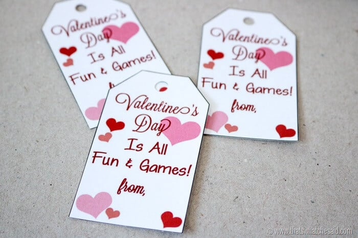 Free Valentine Gift Tags at www.thatswhatchesaid.com