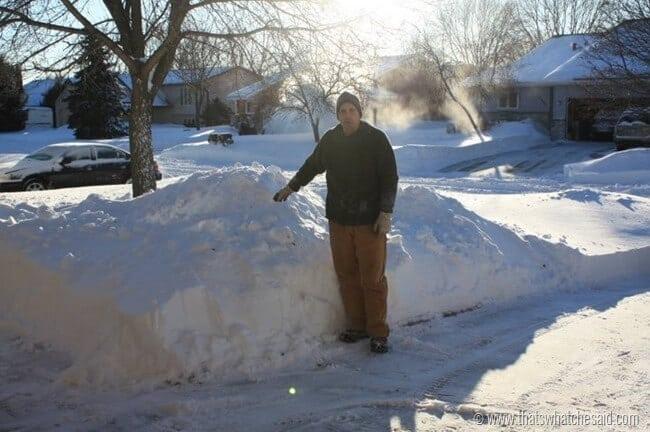 Snowmageddon in MN
