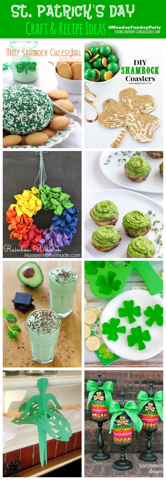 8 St. Patricks Day Crafts & Recipes