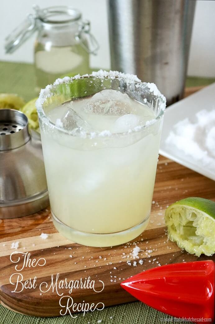 The Best Margarita Recipe! You will never want to use mix again!