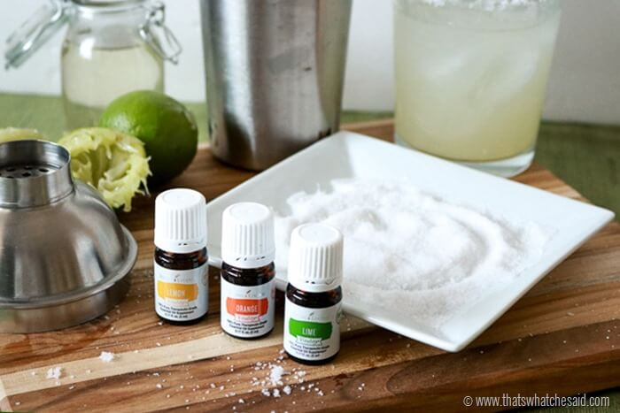 Essential Oils infused Margarita Salts