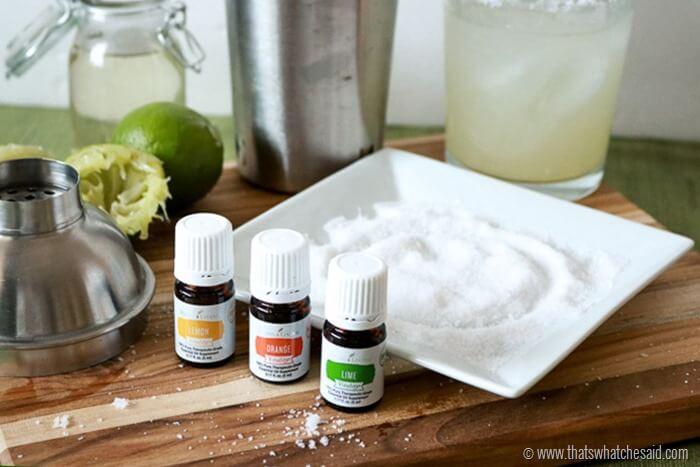 Essential Oils infused Margarita Salts