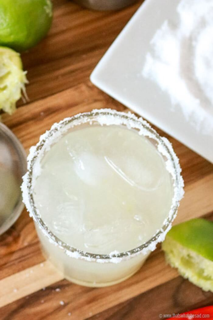 Make the Best Margarita Recipe