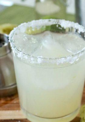 The Best Margarita Recipe Ever!