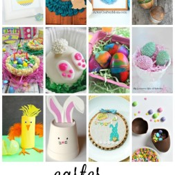 Easter Projects | Monday Funday Link Party