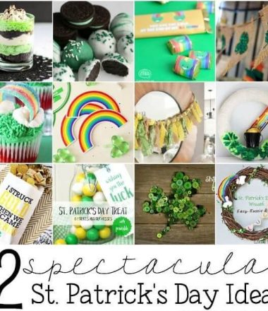 St. Patrick's Day Ideas at Monday Funday Link Party