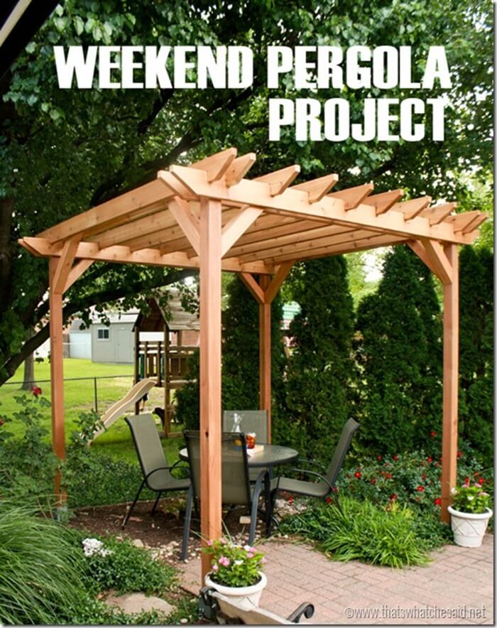 DIY-Weekend-Pergola-Project