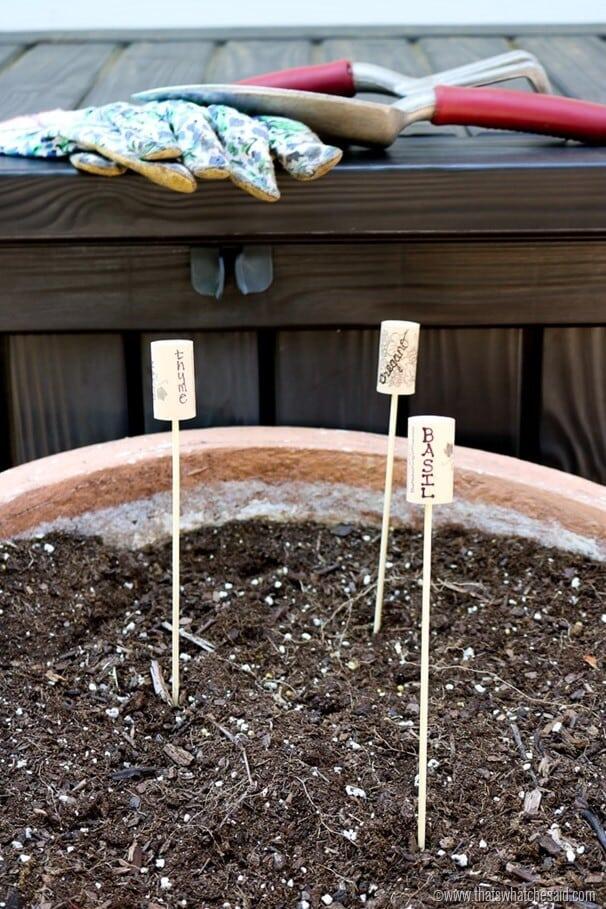 Cork Garden Plant Markers-6