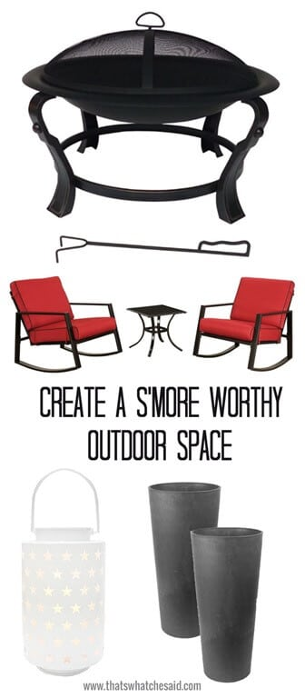 How to Create a Smore worthy outdoor space