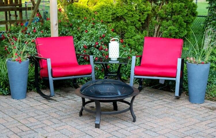 Perfect Backyard Patio 1