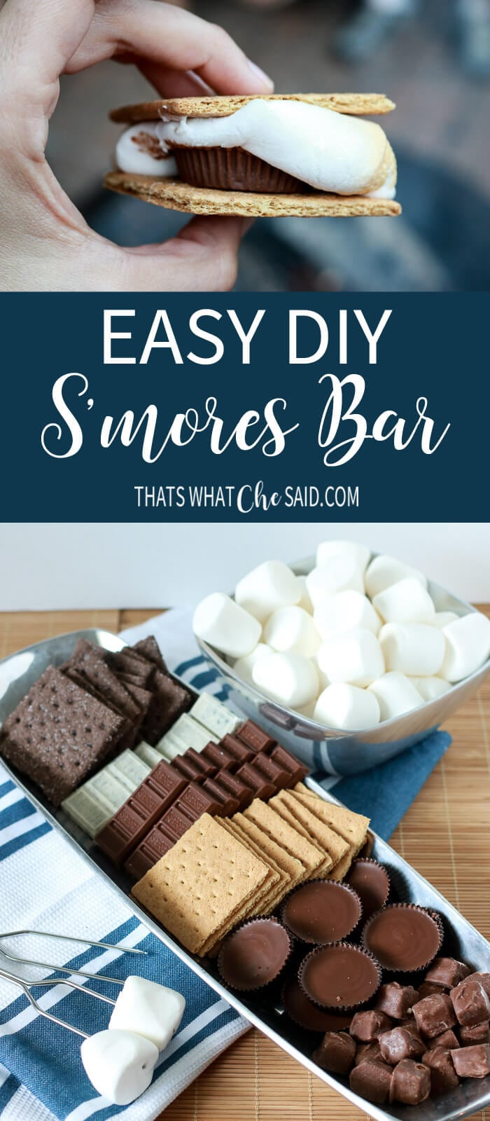DIY S'mores Bar
