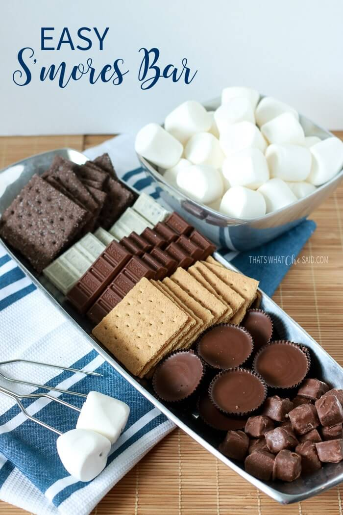 Easy S'mores Bar
