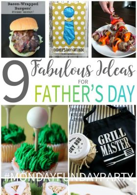 Father's Day Ideas from steaks, to gifts and gift wrap to sweet treats!