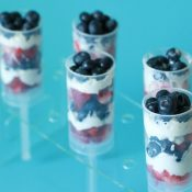 Fresh Fruit Push Up Pops