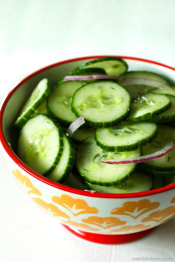 Perfect Picni Ready Cucumber Salad