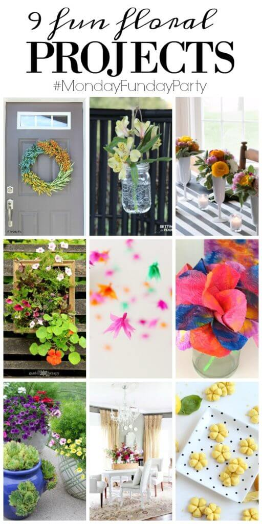 9 Fabulous Floral Projects from growing to eating!