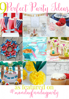 Perfect Party Ideas featured from Monday Funday Link Party