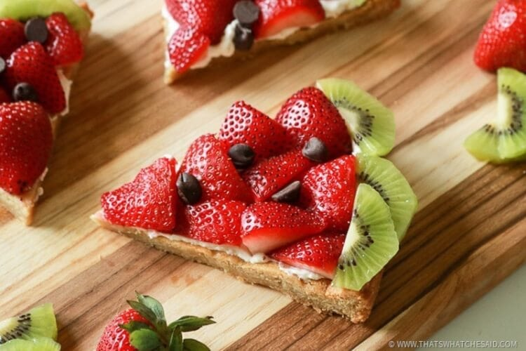 Have a slice of watermelon fruit pizza!